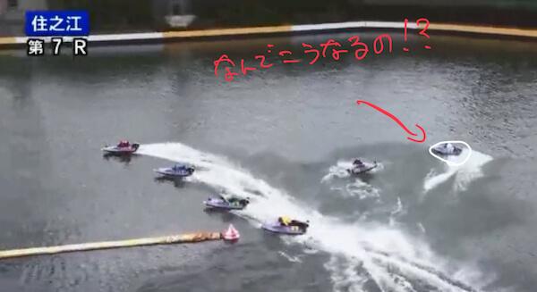 市川の無理な捲りにレースを潰される太田選手