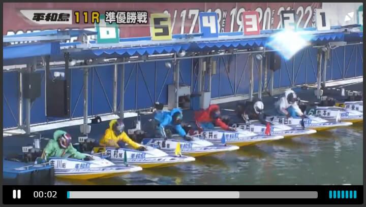 【ボートレース・競艇】良いモーターの見極め方(見方)⑥:前走リプレイを見る